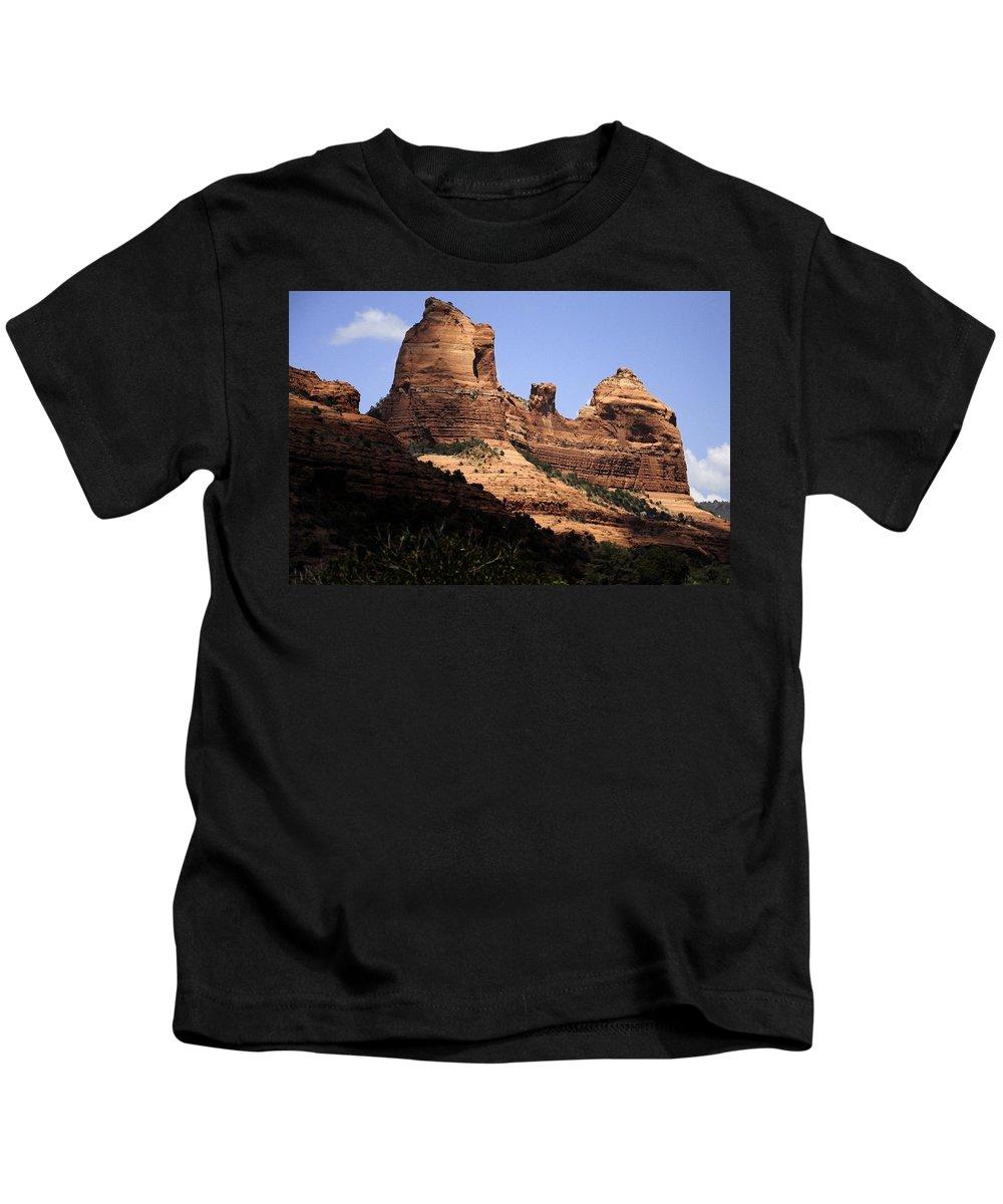 Kids T-Shirt featuring the photograph Sedona Arizona - Greeting Card by Mark Valentine
