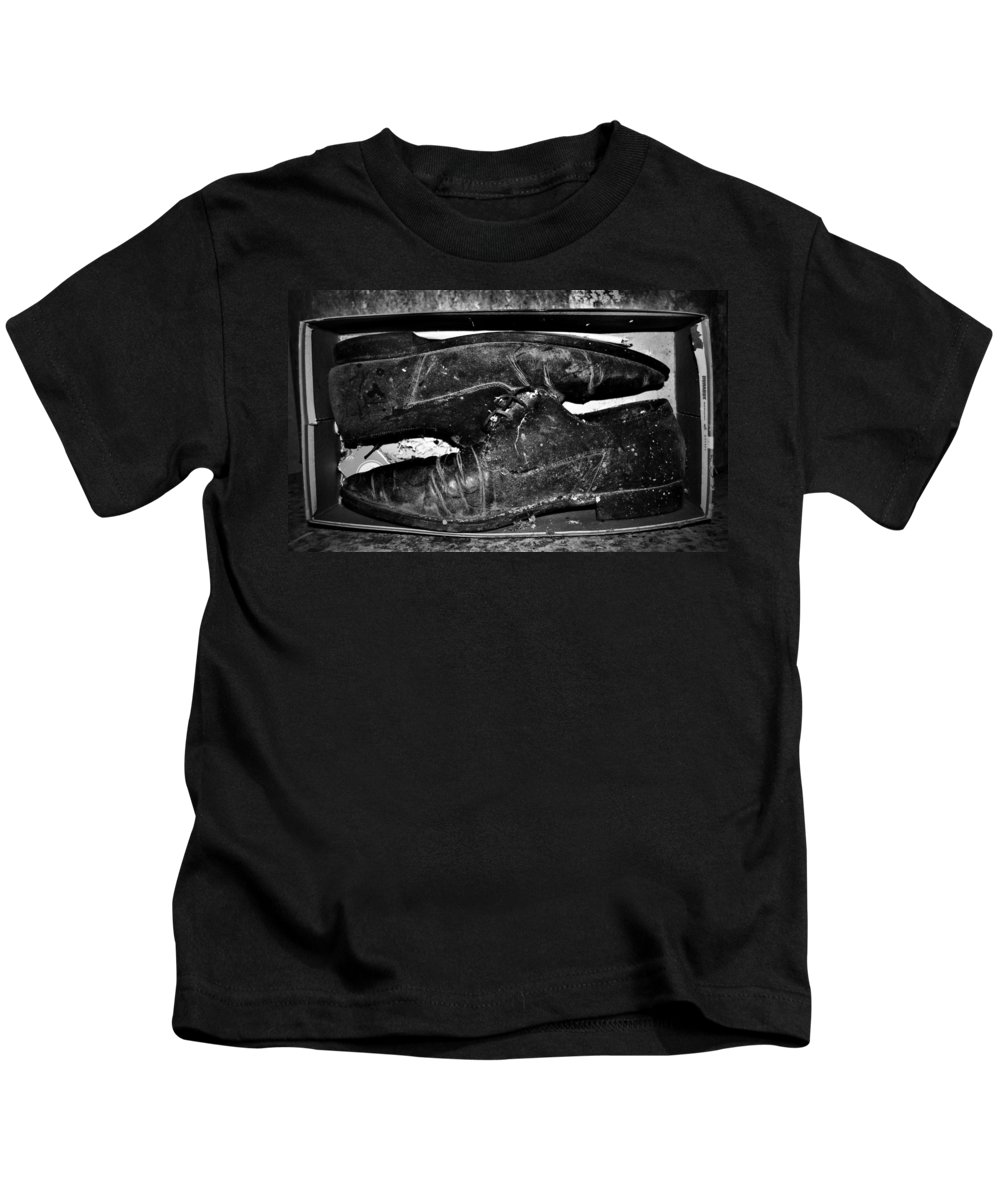 Jerry Cordeiro Kids T-Shirt featuring the photograph Shoebox by The Artist Project