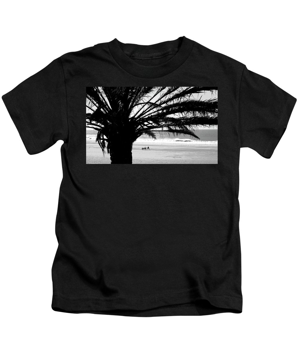 Travel Kids T-Shirt featuring the photograph Sidi Kaouki 01 by Miki De Goodaboom