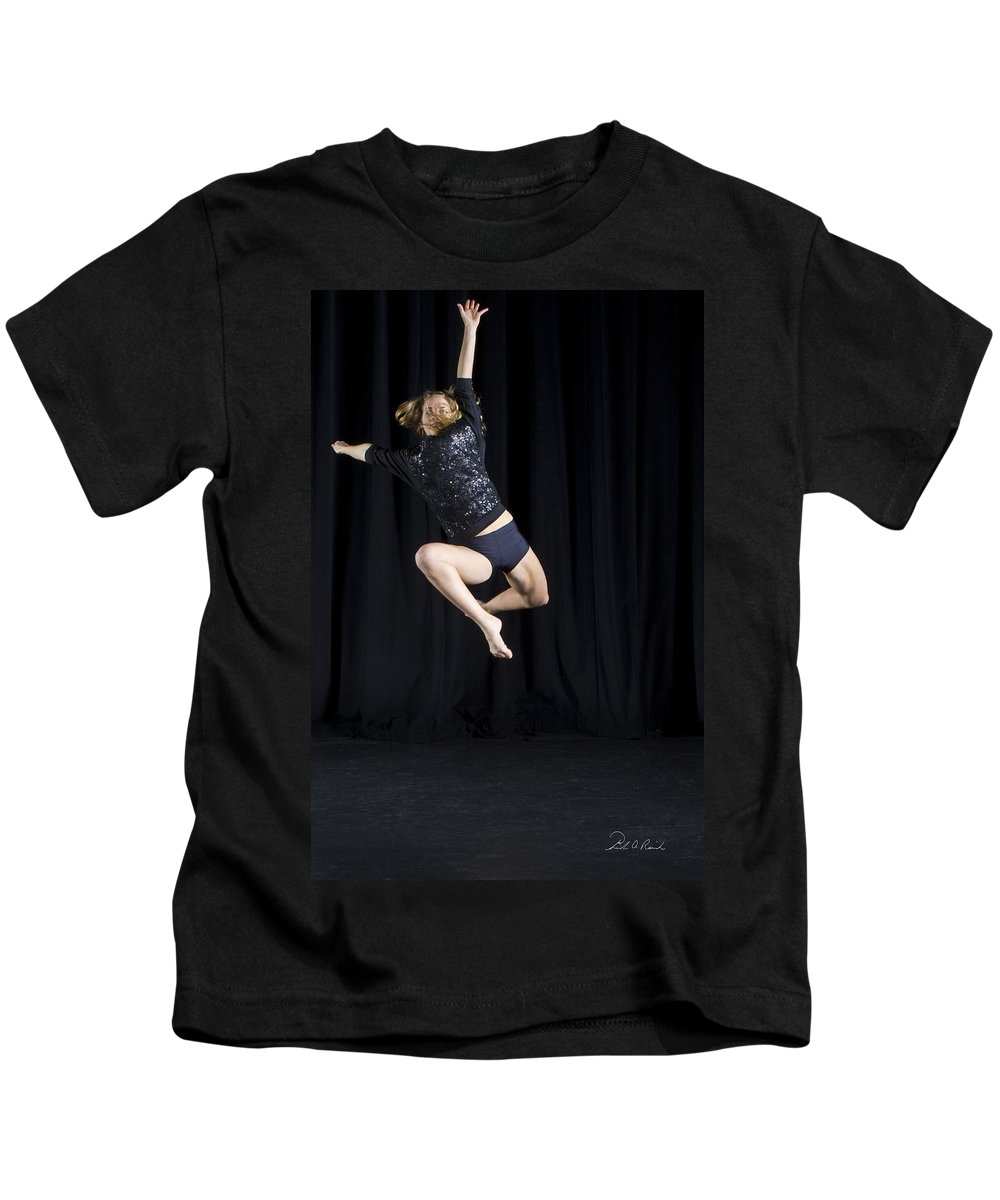 Photography Kids T-Shirt featuring the photograph Soaring by Frederic A Reinecke