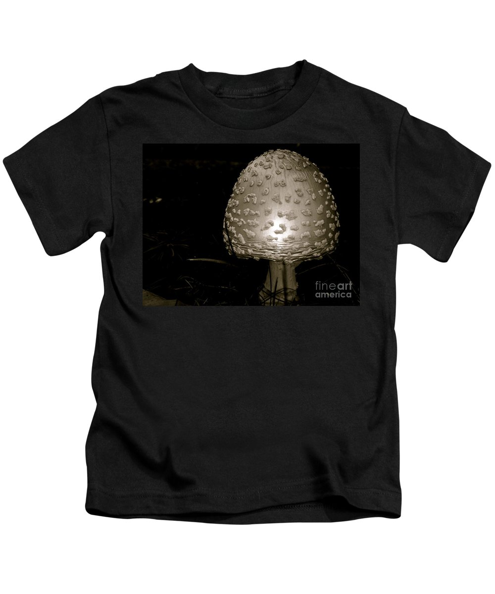 Kids T-Shirt featuring the photograph Space Oddity Earthling by Trish Hale
