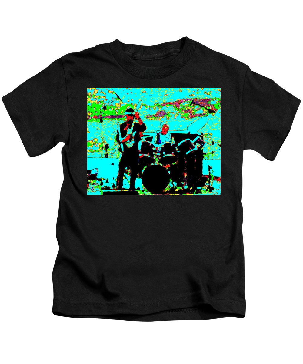 Spirit Kids T-Shirt featuring the photograph Spirit At The Gorge 29c by Ben Upham