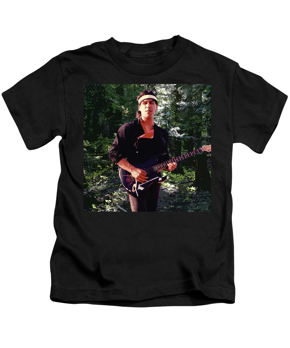 Spirit Kids T-Shirt featuring the photograph Spirit Of The Forest 2 by Ben Upham
