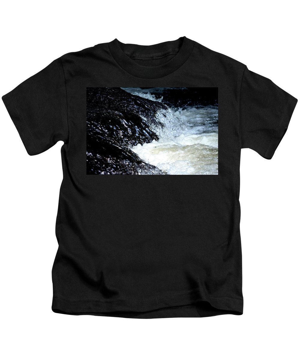 Water Kids T-Shirt featuring the photograph Splashes And Suds by Maria Urso