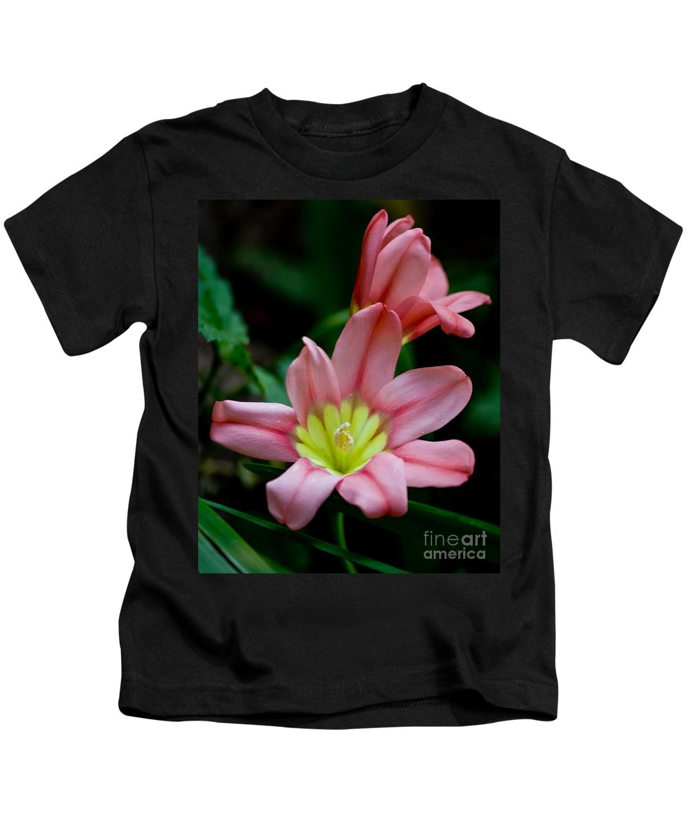 Sparaxas Kids T-Shirt featuring the photograph Summer Blooms by Beth Phifer