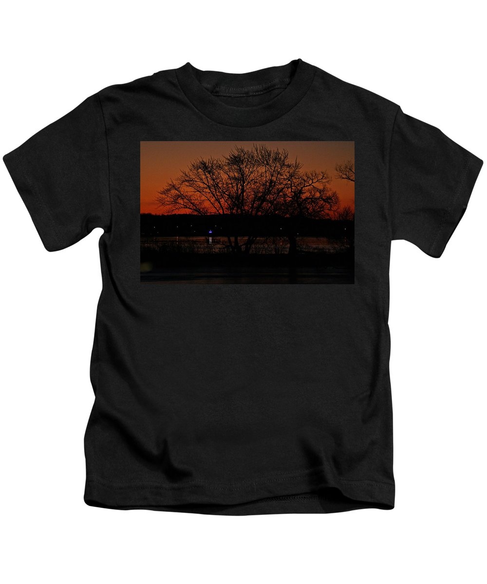 Sunrise Kids T-Shirt featuring the photograph Sunrise VI by Joe Faherty