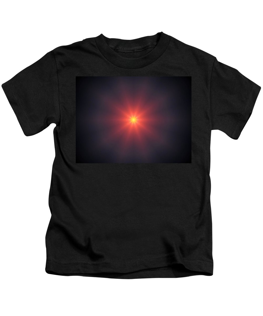 Sunset Kids T-Shirt featuring the photograph Sunset 3 by Linda Hutchins