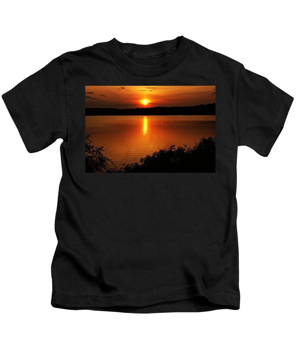 Sunrise Kids T-Shirt featuring the photograph Sunset Xvi by Joe Faherty