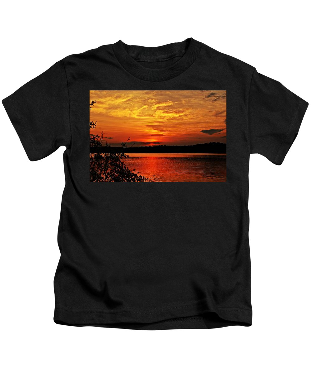 Sunrise Kids T-Shirt featuring the photograph Sunset Xxiv by Joe Faherty