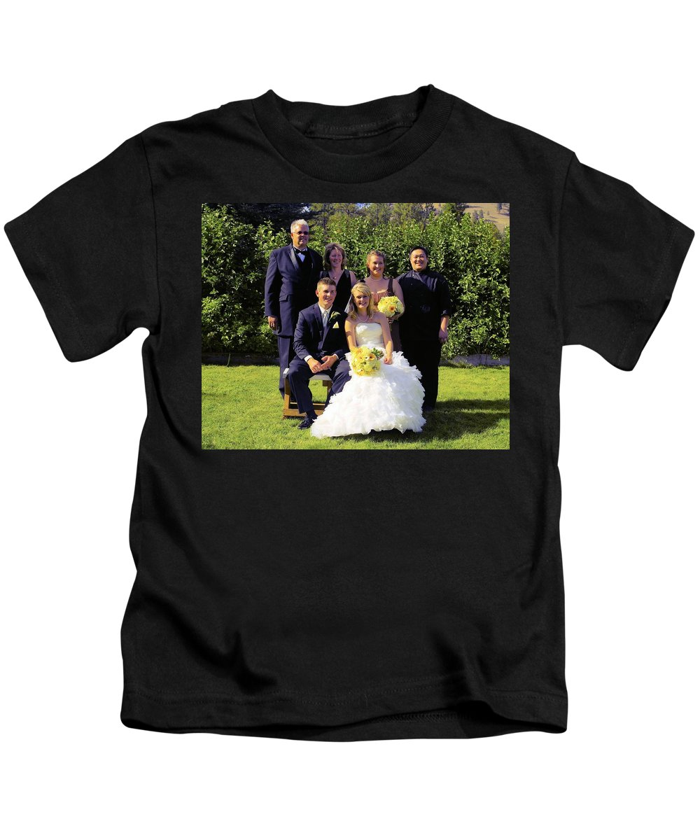 Kids T-Shirt featuring the photograph T And T 17 by John Greaves