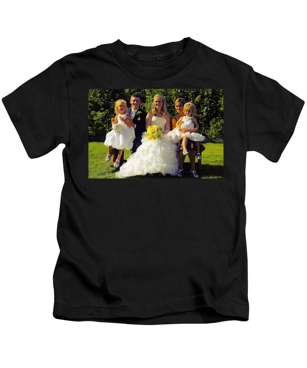 Kids T-Shirt featuring the photograph T And T 29 by John Greaves