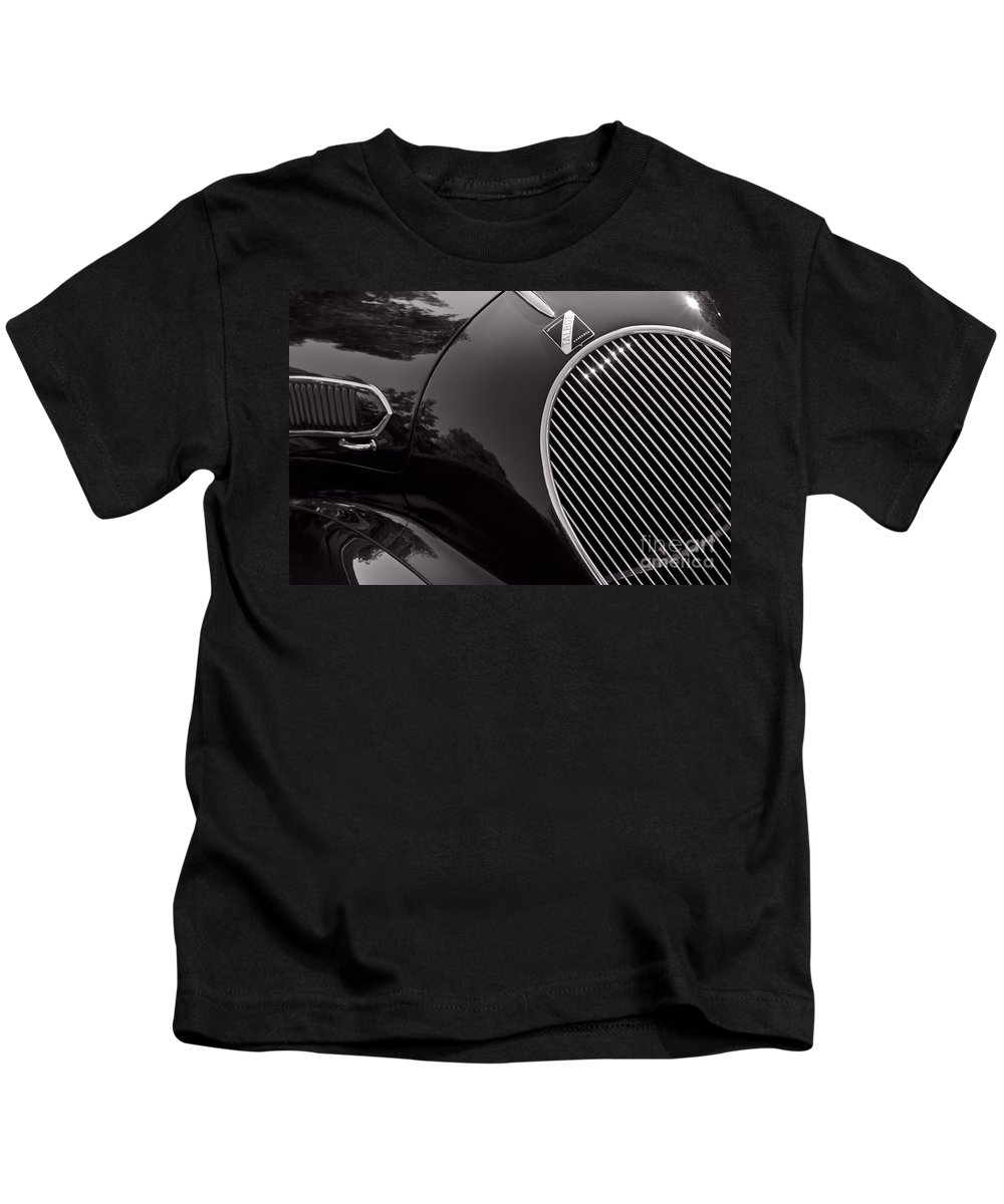 Classic Kids T-Shirt featuring the photograph Talbot Lago by Dennis Hedberg