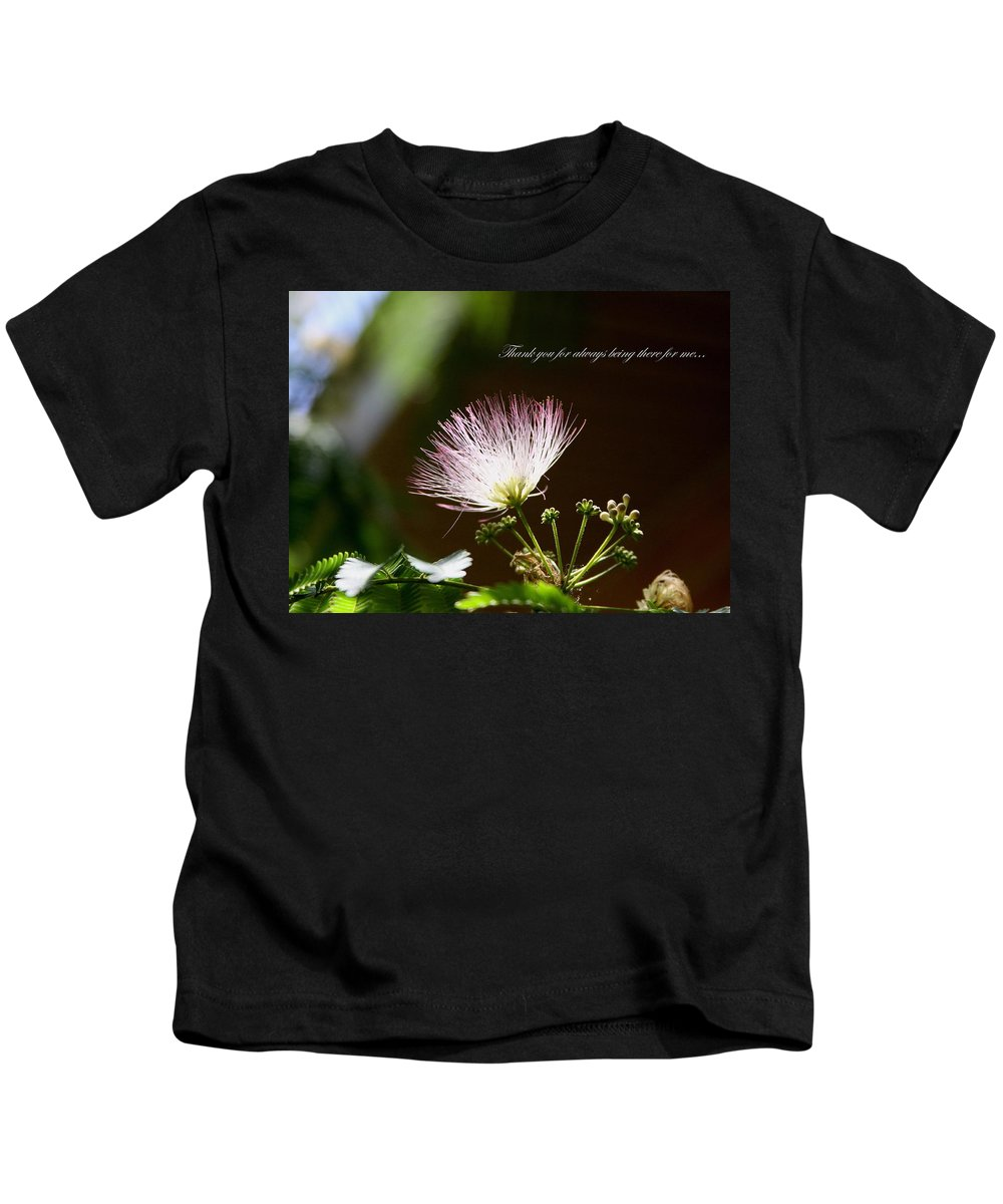 Thank You Kids T-Shirt featuring the photograph Thank You For Being There by Travis Truelove