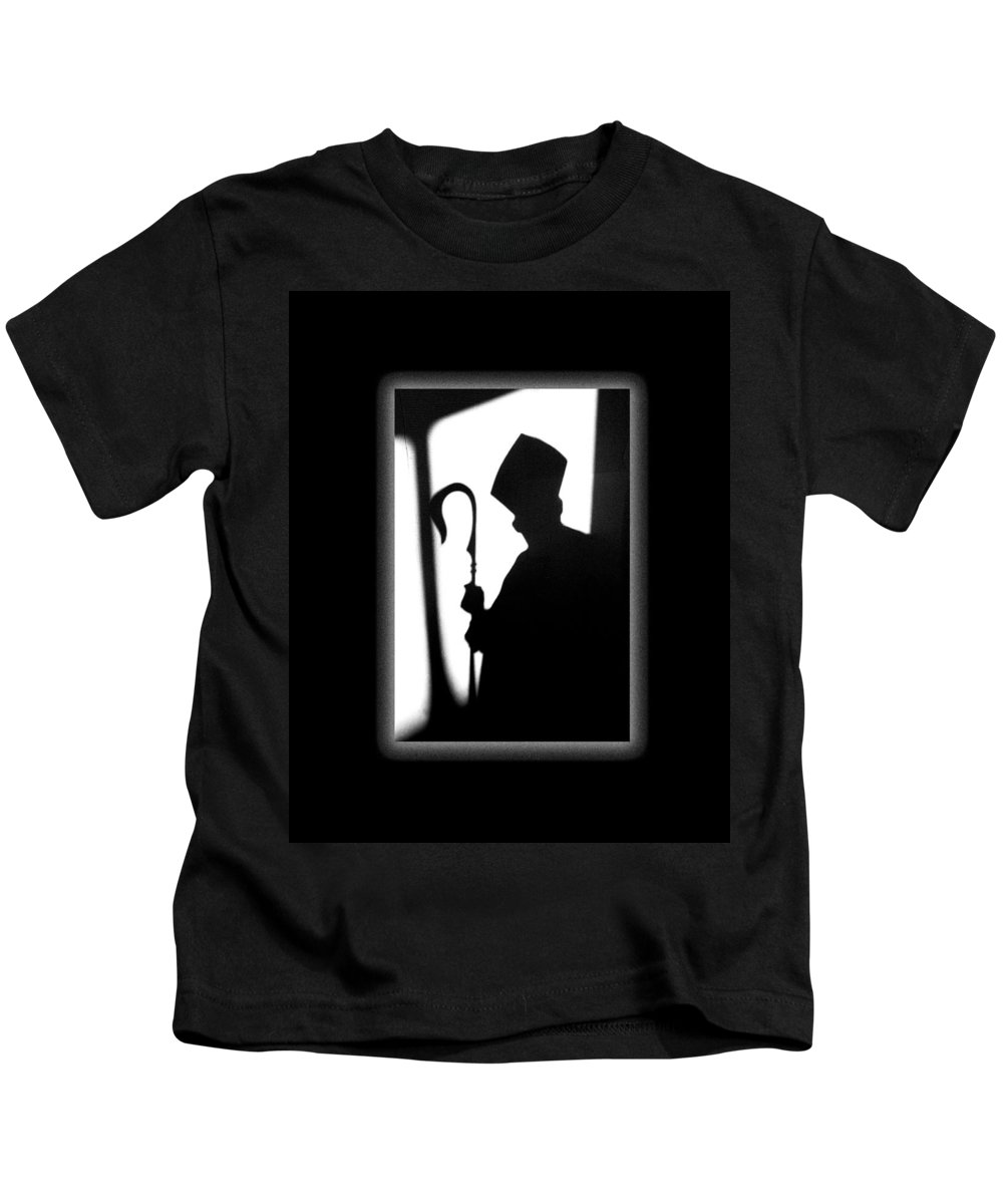 Bishop Kids T-Shirt featuring the photograph The Bishop by Mike Penney
