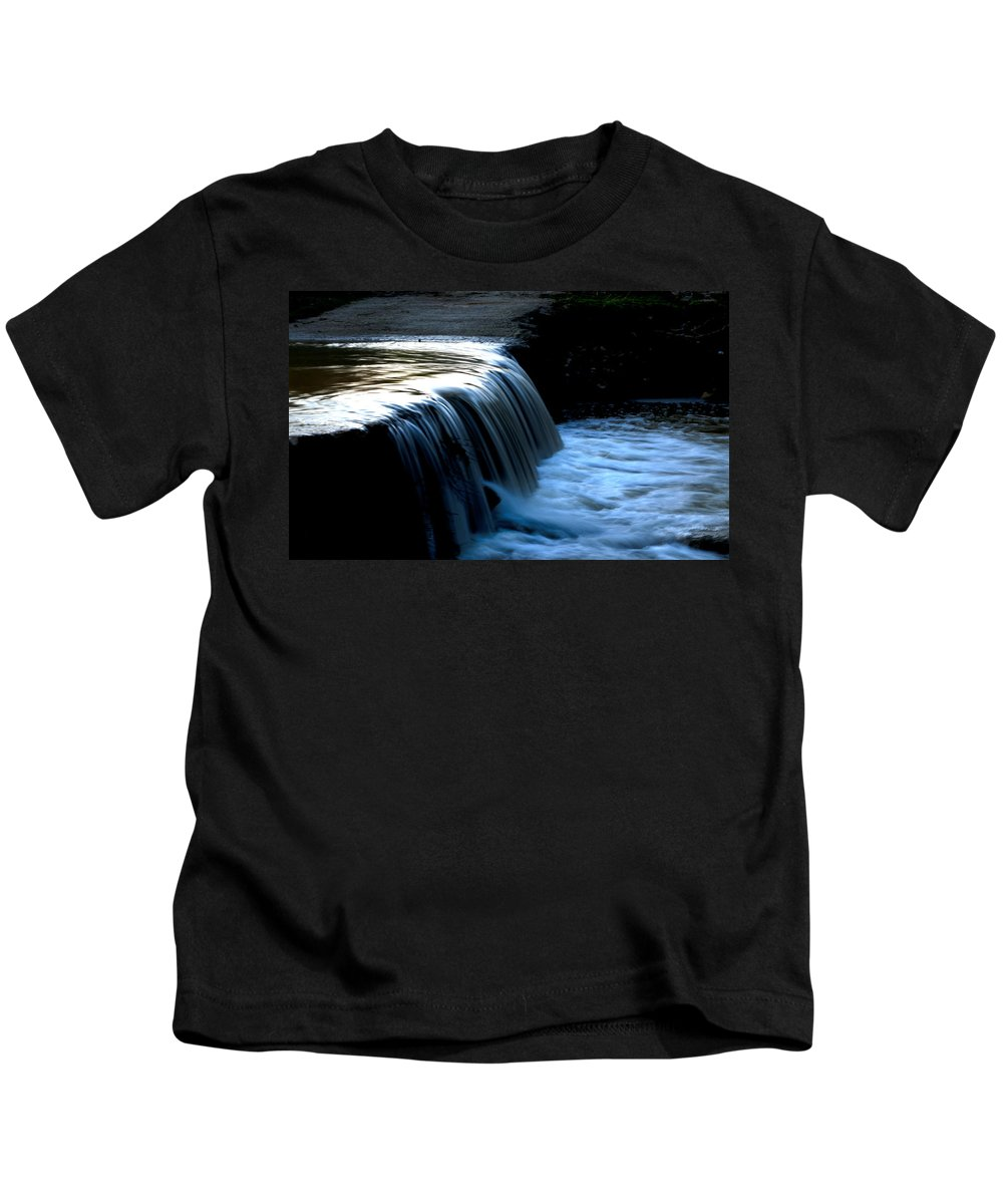 Flash Flood Kids T-Shirt featuring the photograph The Flash Flood by Focus Fotos