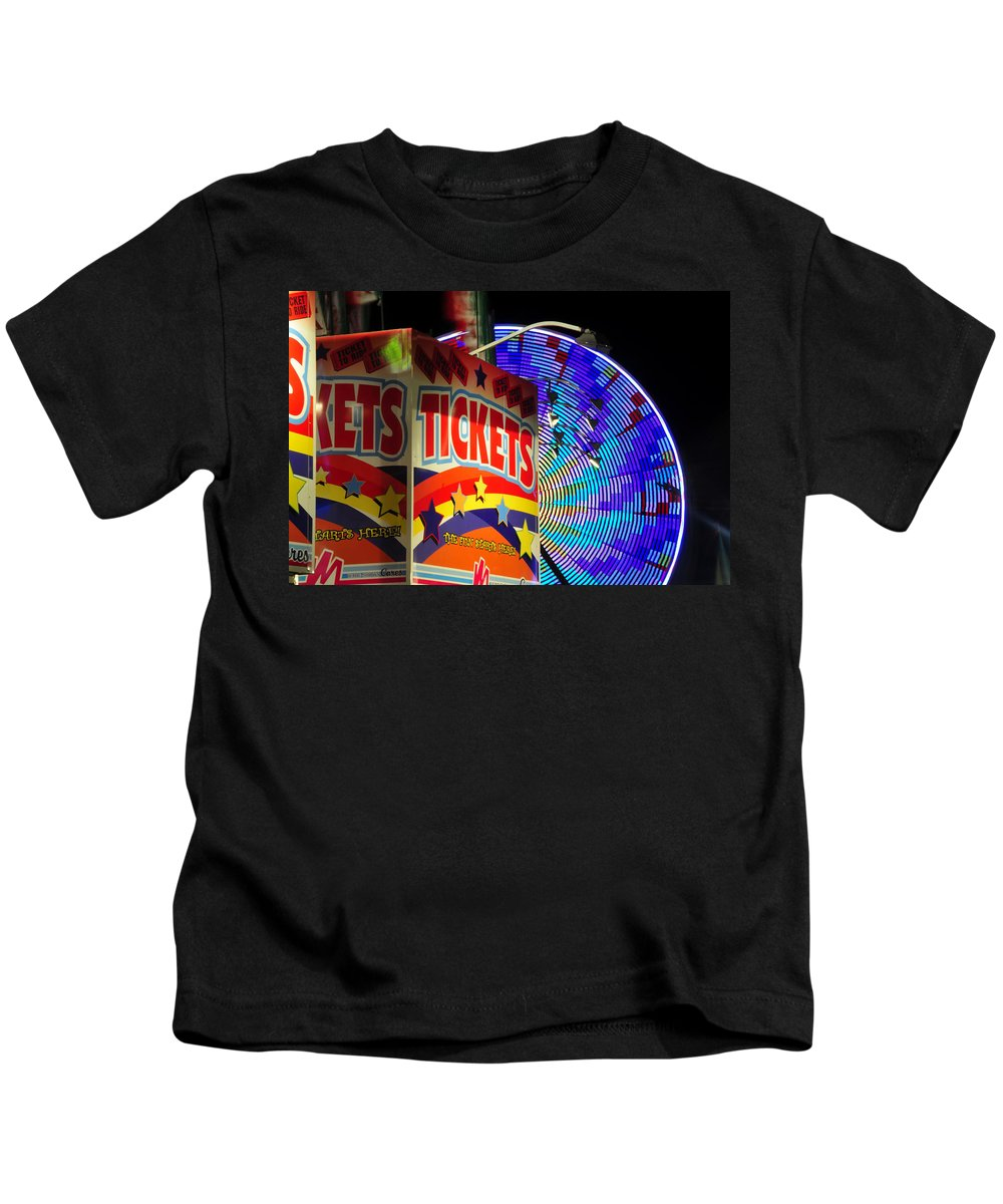 Fine Art Photography Kids T-Shirt featuring the photograph The Fun Starts Here by David Lee Thompson