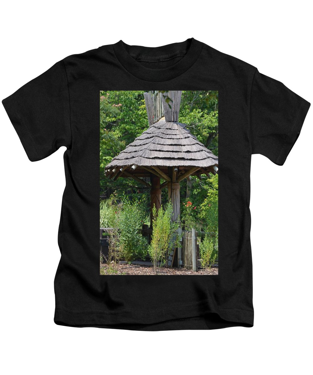 Hut Kids T-Shirt featuring the photograph The Hut by Maria Urso