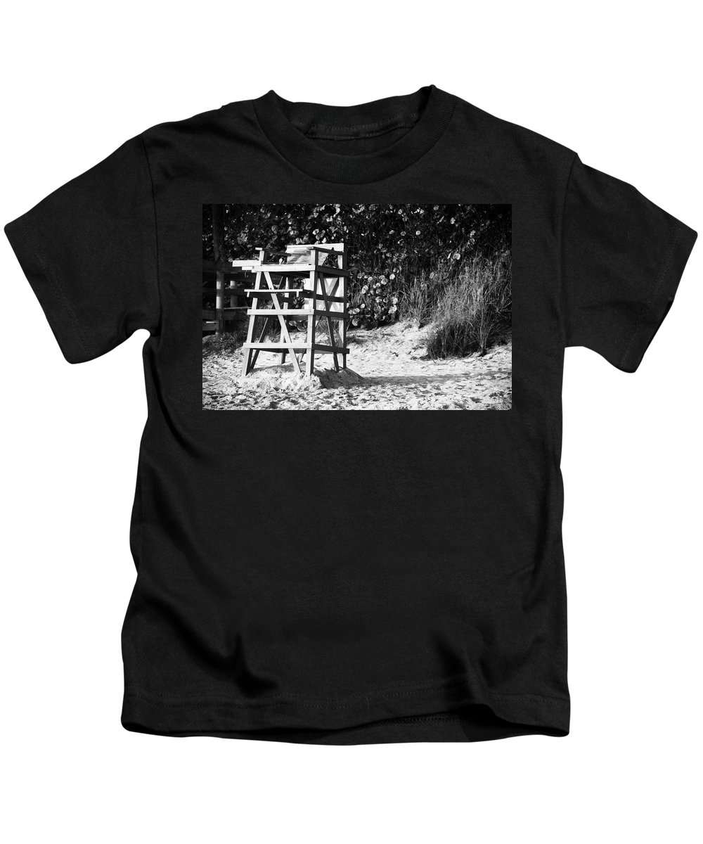 Florida Kids T-Shirt featuring the photograph The Invisible Watcher by Roger Wedegis