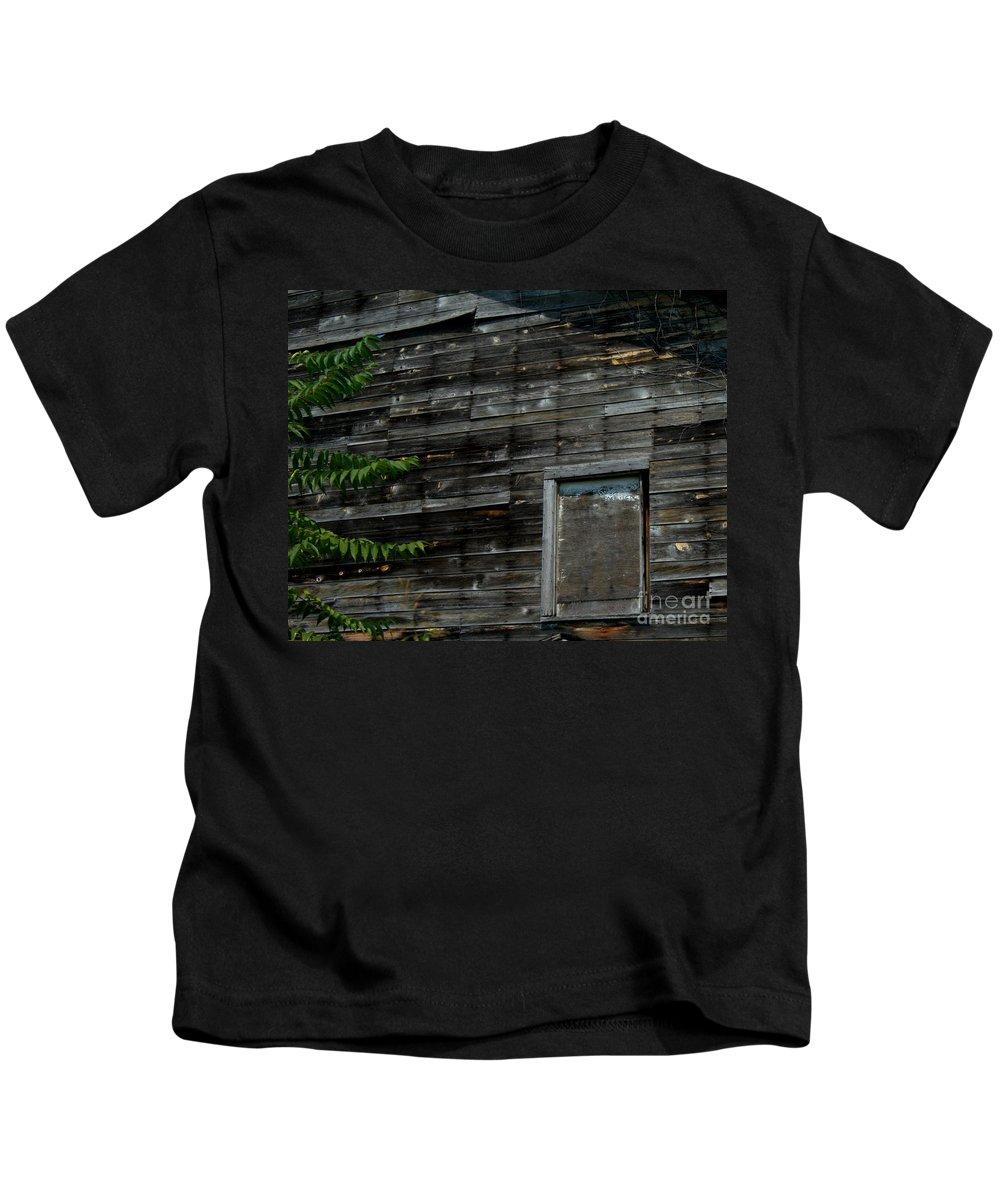 Kentucky Kids T-Shirt featuring the photograph The Window by Ken Frischkorn