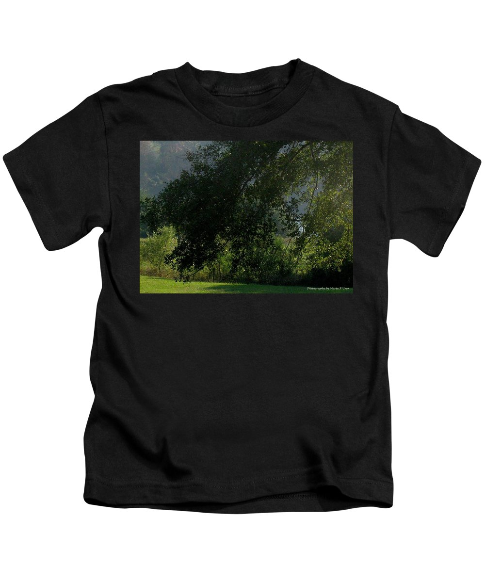 Greens Kids T-Shirt featuring the photograph This Ole Tree by Maria Urso