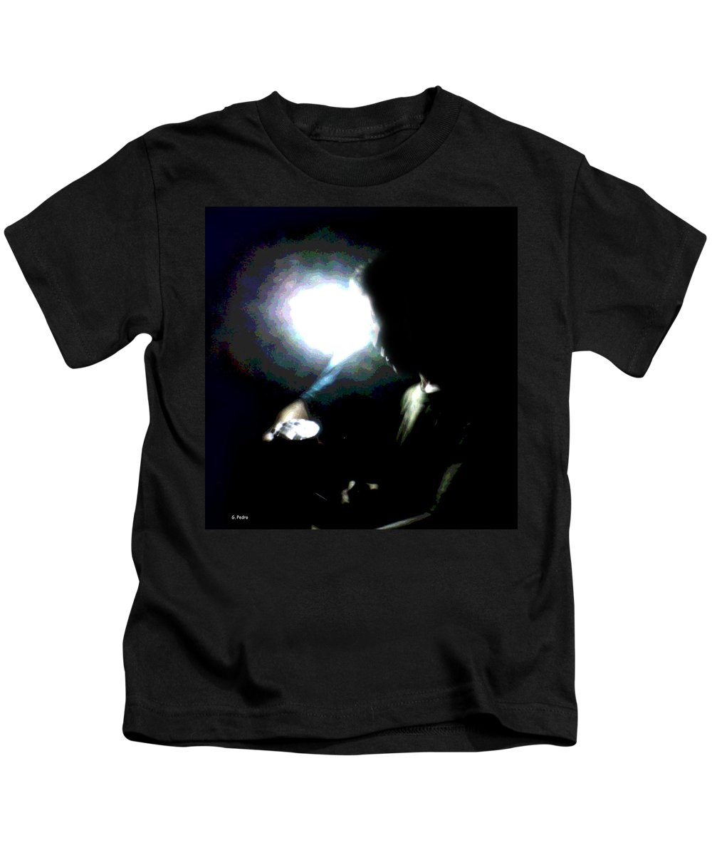 Thought Kids T-Shirt featuring the photograph Thought Process by George Pedro