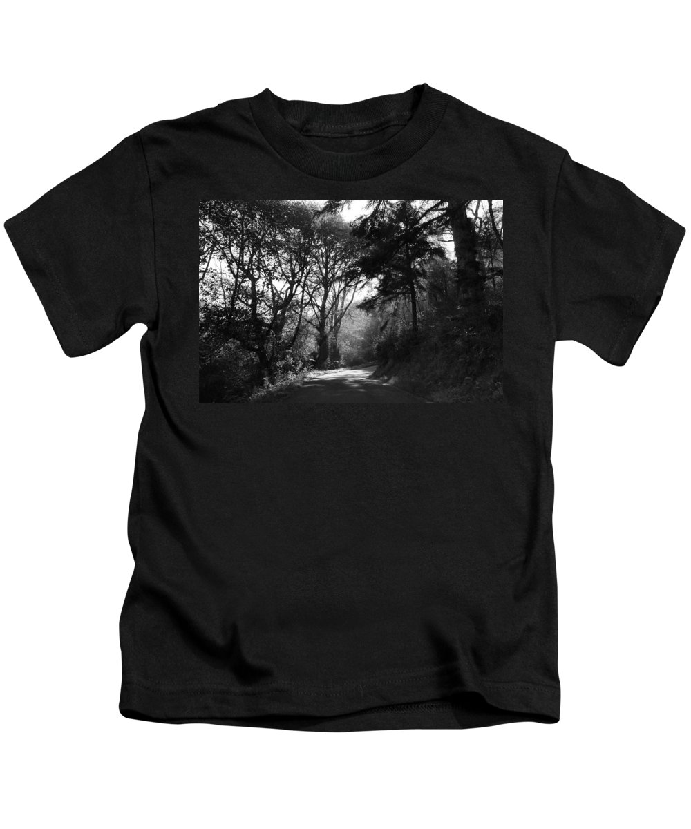 Trees Kids T-Shirt featuring the photograph Through The Trees by Kathleen Grace