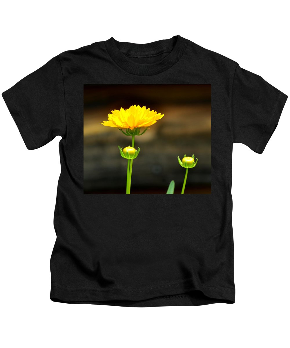 Flower Kids T-Shirt featuring the photograph Times Three by Maria Urso