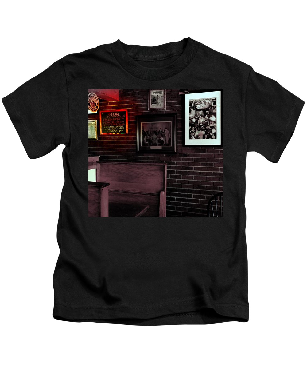 Food Kids T-Shirt featuring the photograph Today's Special by Chris Berry