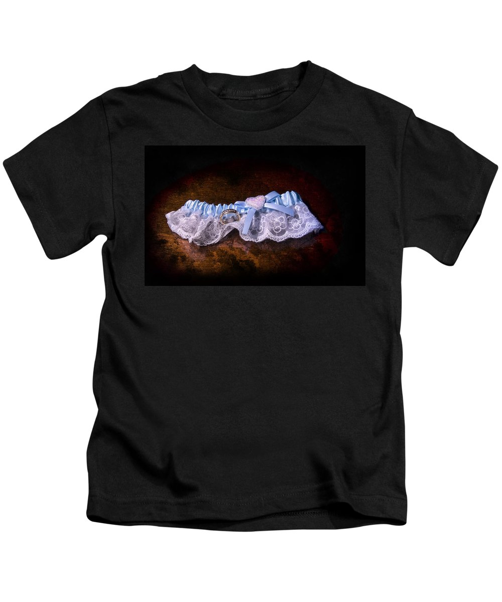 Wedding Ring Kids T-Shirt featuring the photograph Token Of Her Love by Steven Richardson
