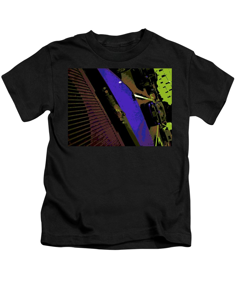 Traffic Kids T-Shirt featuring the photograph Traffic by George Pedro