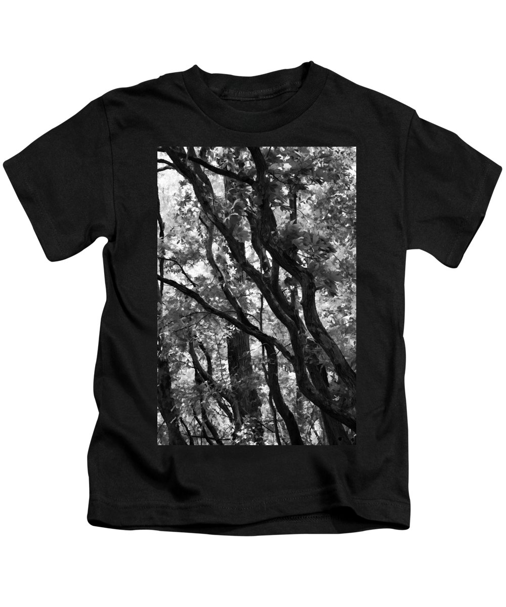 Trees Kids T-Shirt featuring the photograph Trees Beautiful Trees by Kathy Clark