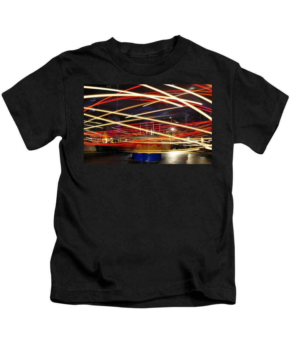 Fine Art Photography Kids T-Shirt featuring the photograph Twisting by David Lee Thompson