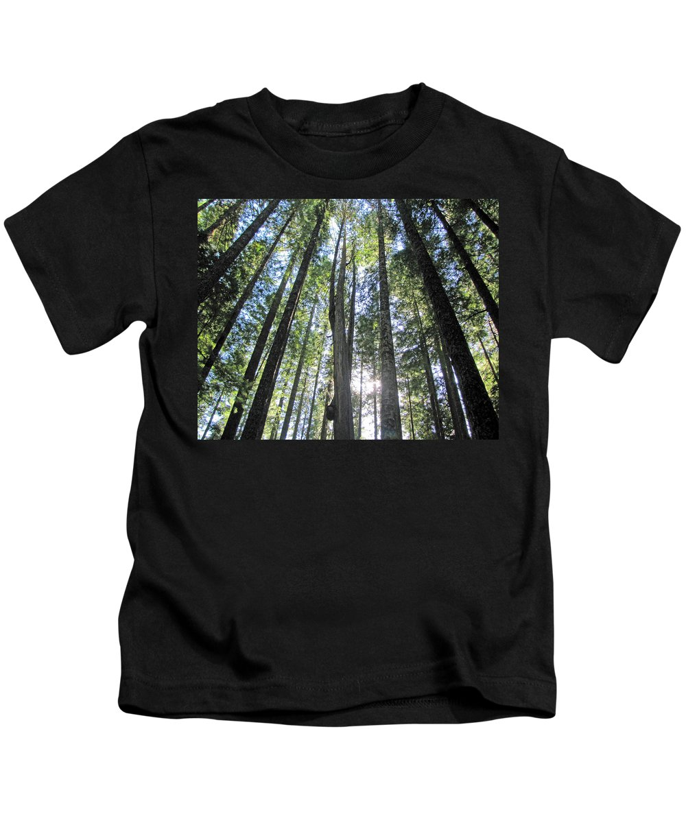 Tall Kids T-Shirt featuring the photograph Up-ward Bound by Tikvah's Hope
