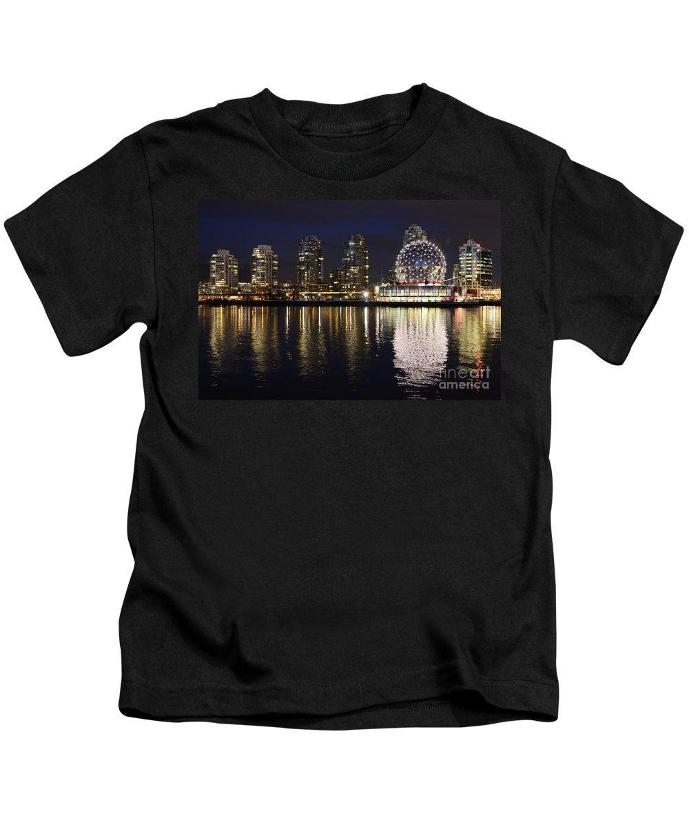 Vancouver Kids T-Shirt featuring the photograph Vancouver British Columbia 2 by Bob Christopher