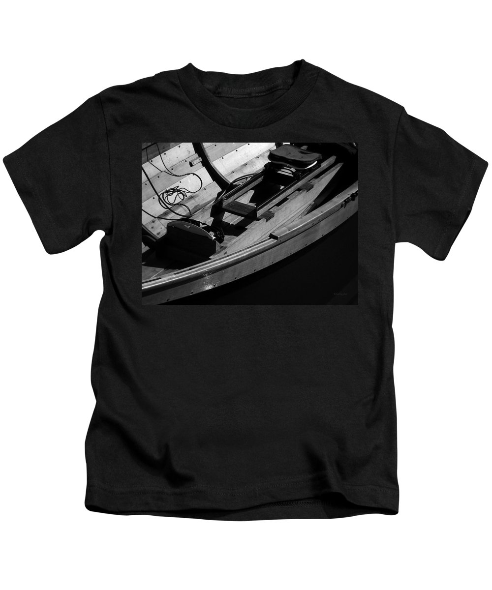 Boats Kids T-Shirt featuring the photograph Voyage I by Xueling Zou