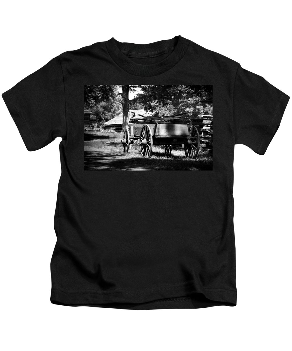 American Kids T-Shirt featuring the photograph Wagon by Jason Smith