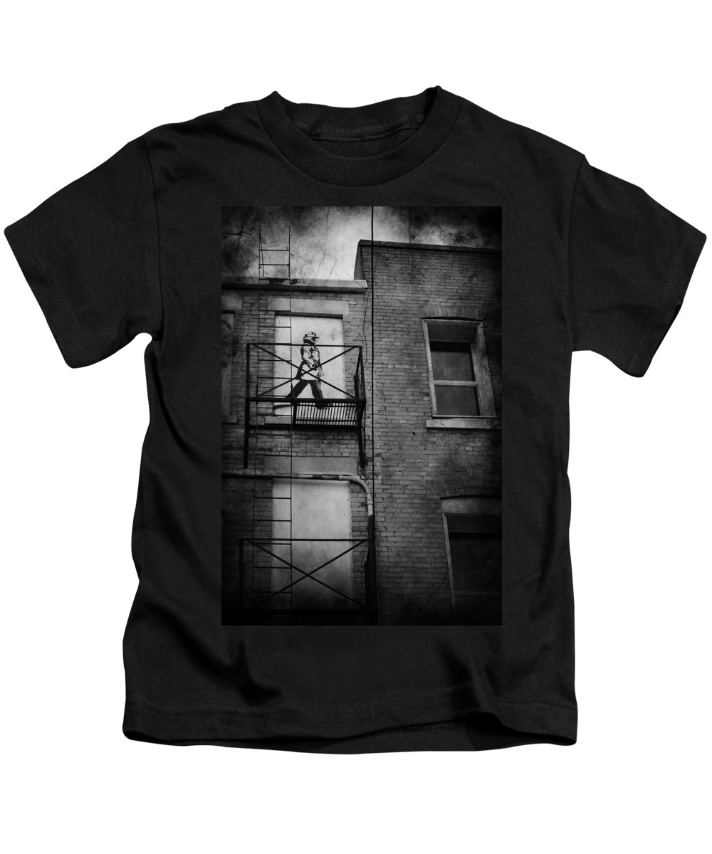 Jerry Cordeiro Kids T-Shirt featuring the photograph Walk On White by The Artist Project