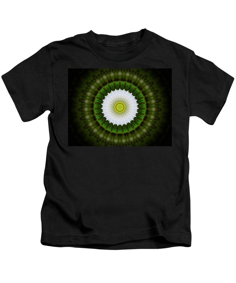 Flower Kids T-Shirt featuring the photograph White Flower 2 by Linda Hutchins