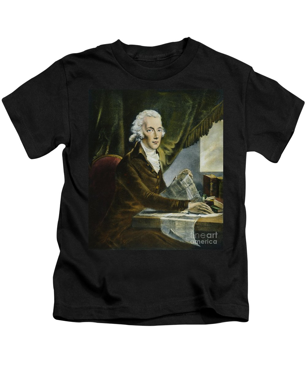 18th Century Kids T-Shirt featuring the photograph William Pitt (1759-1806) by Granger