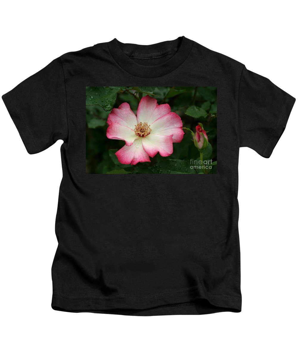 Rose Kids T-Shirt featuring the photograph Windmill by Living Color Photography Lorraine Lynch