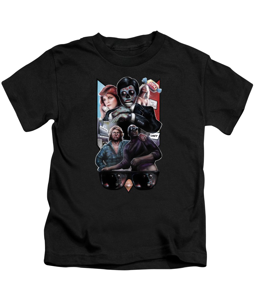 Obey Paintings Kids T-Shirts