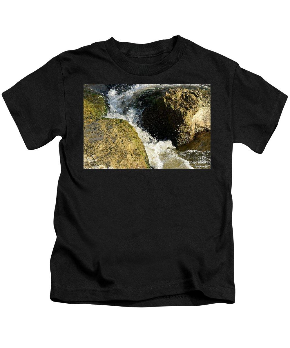 Kids T-Shirt featuring the photograph . by Terry Brackett