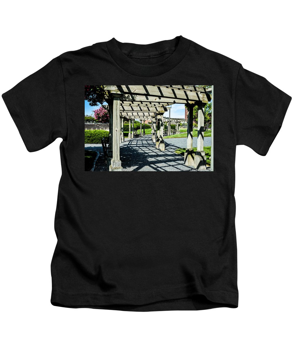 Wood Kids T-Shirt featuring the photograph A Place To Rest by Jennifer Wick