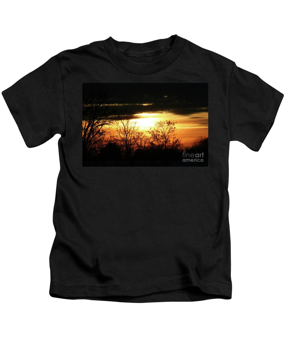 Wisconsin Kids T-Shirt featuring the photograph After The Storm by Tommy Anderson