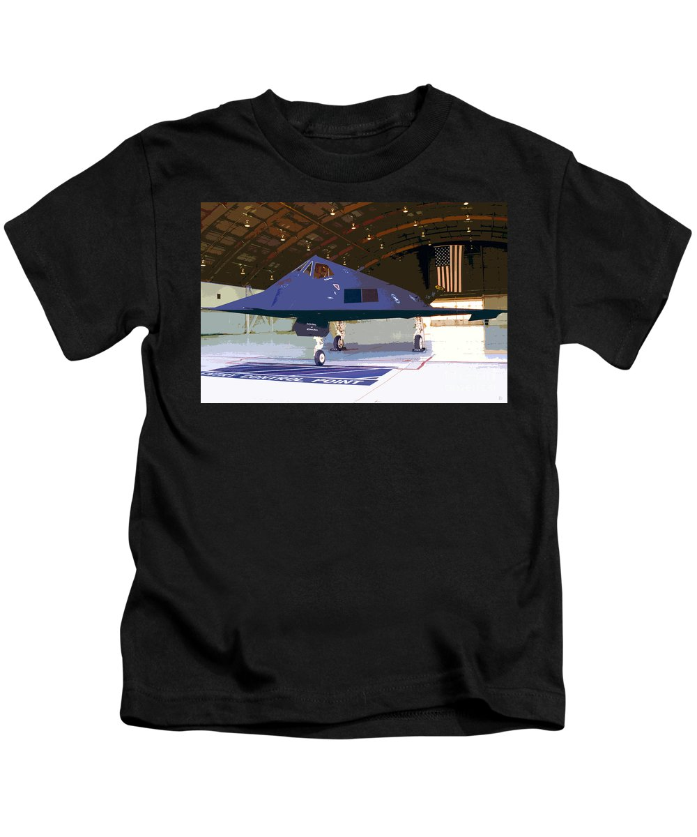 American Kids T-Shirt featuring the painting American Pride by David Lee Thompson