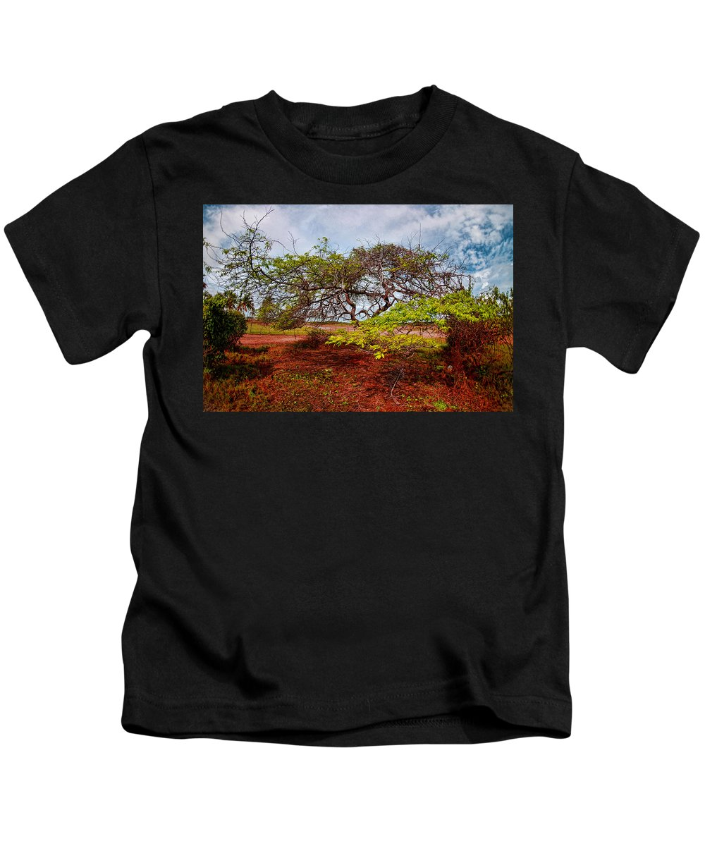 Tree Kids T-Shirt featuring the photograph Animal Reserve Of Cuare by Galeria Trompiz