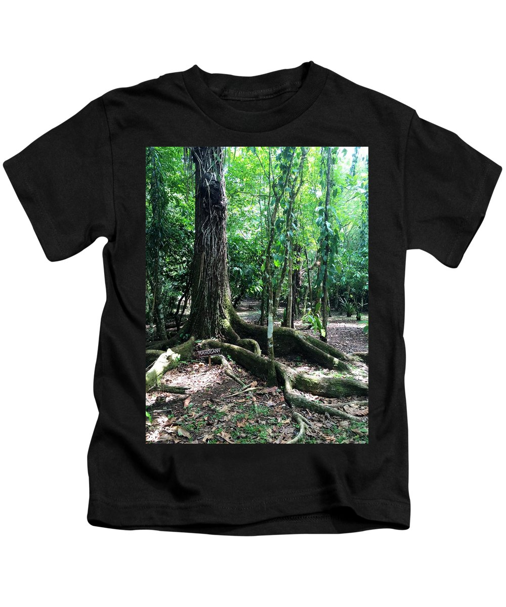 Landscape Kids T-Shirt featuring the photograph Blue Hole National Park by Julia Breheny