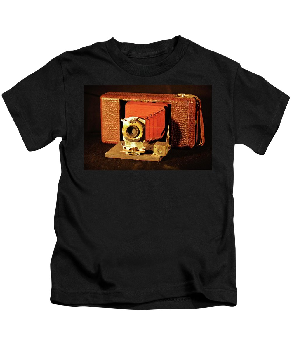 Kids T-Shirt featuring the photograph Camera by Kenneth Greathouse