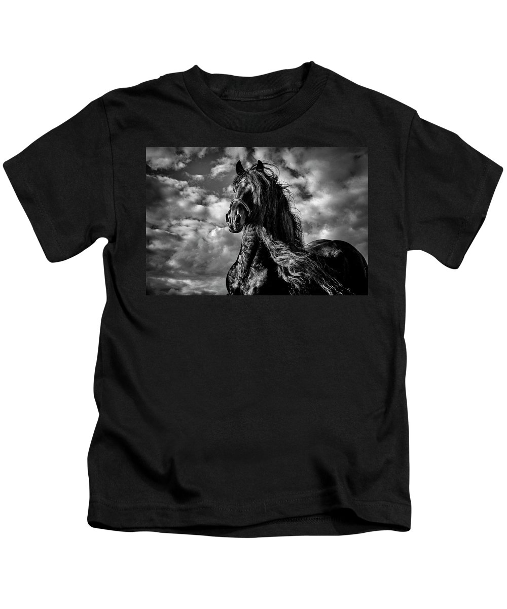 Dark Knight Kids T-Shirt featuring the photograph Dark Knight by Wes and Dotty Weber