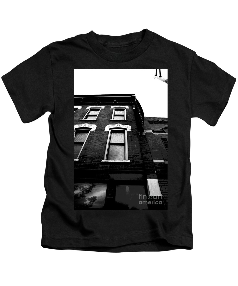 Kids T-Shirt featuring the photograph Fonder Days by Jamie Lynn